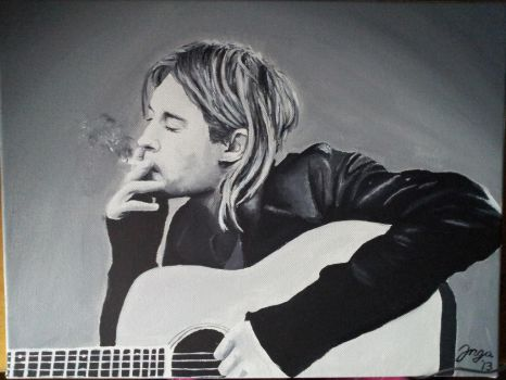 Kurt Cobain by reacool