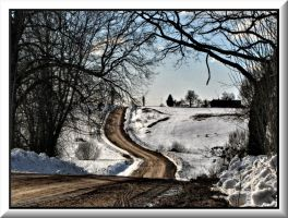 Endless road... by Yancis
