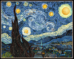 The Starry Night /Emote Version by spring-sky