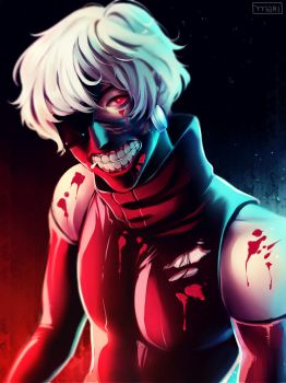 Tokyo Ghoul by cosmogirll