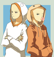 Gintama hoodies by Hoshi-Bases