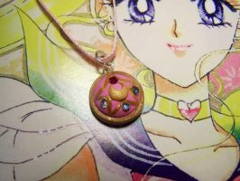 Sailor Moon Brooch Pendant by littlemooglet