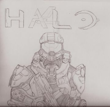 Master Chief by fragozo