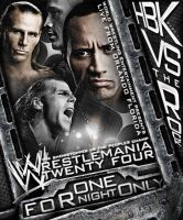 Mania 24 Poster - HBK V Rock by TheNotoriousGAB