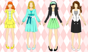 Outfits for Sale by Kawaii-Adopts1