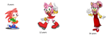 Amy Rose group project idea by Cyclone62