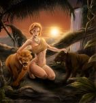 Jungle Cats by VinRoc