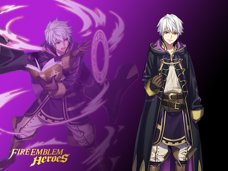 Fire Emblem Heroes - Robin Wallpaper by russell4653