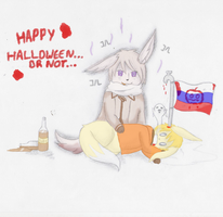 HAPPY HALLOWEEN :D ...Or not. by BlueVishnya