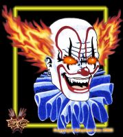 Evil Clown by stevec78