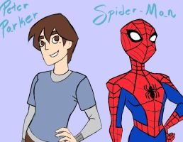 Peter and Spidey by dreamer45