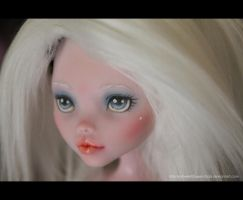 Angel Repaint Detail by MySweetQueen-Dolls