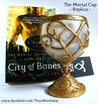 The Mortal Cup polymer clay replica - handmade by TessaWorkshop