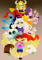 Undertale by adelistic