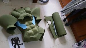 WIP: Solidus Snake Build up by LadyAngelus