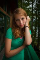 Teenage Girl forest stock 1 by thisgirlhasissues