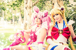 Sailor Moon - Family by LolaInProgress