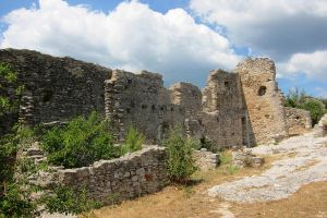 Provence St Saturnin ruins by elodie50a