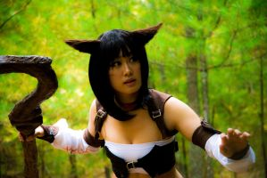 Miqo'te Cosplay by cheesywee