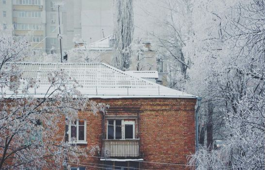 winter in the town by Valentinovna