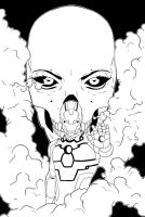 The Invincible Iron Man Lines by Karbacca