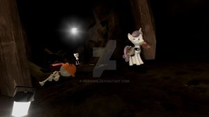 He's here...Slender Man! (Pony version) by Grido555