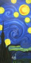 My Version of Starry Night by AevalCelt