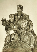 The Avengers by ms24khan