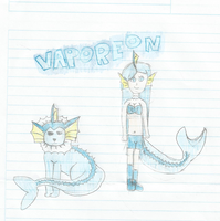 Pokepeople-vaporeon by brunaalex13
