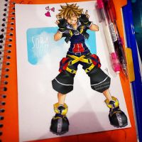 Sora-Kingdom Hearts by unityworldtian