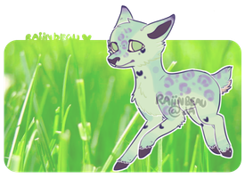 [Auction] .:Pastel deer:. Closed! by coconuteIIa