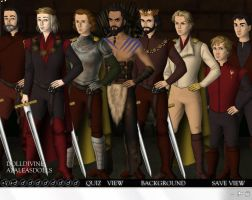 The Game of Thrones - Gentlemen by WillowTreeWitch