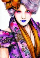 Effie Trinket by feliciabe