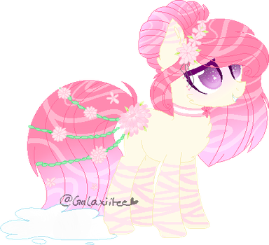 Sakura Water Garden Pony (Auction: Open) by hiivelee