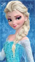 Elsa Painting by Ellwell