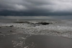 Stormy Coastline Stock 17 by FairieGoodMother