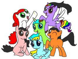 MLP OCs by sonazelover132