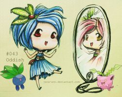 ODDISH: Mariah's Little Oddish that Could... by jejejeca