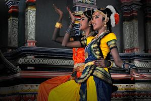 Indian Dancer-4 by SAMLIM