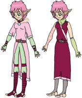 Aelita-Seasons of War Concept (Autumn and Winter) by LynaKiovote