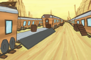 Pk Trainyard by Poniker