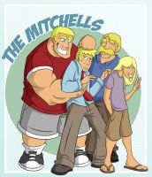 Everyday Family: The Mitchells by Everyday-Grind-Comic