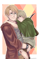 APH My Little Archer by Owyn-Sama