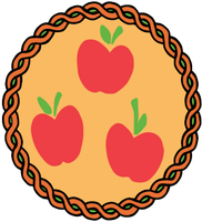 Apple Jack  Embroidery Patch by AkitaHaru