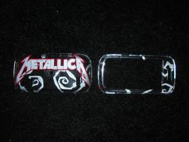 Metallica phone cover by Kawaii--Koneko