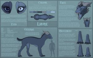 Lhune - Reference Sheet by LhuneArt