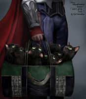 Loki's Going Home by EvilConcubine