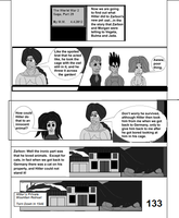 The World War 2 Saga Chap 29 Page 133 b and w by mamc1986