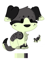 Puppy Adoptable Auction - Closed (Plus FREE Icon!) by KittKattAdoptables