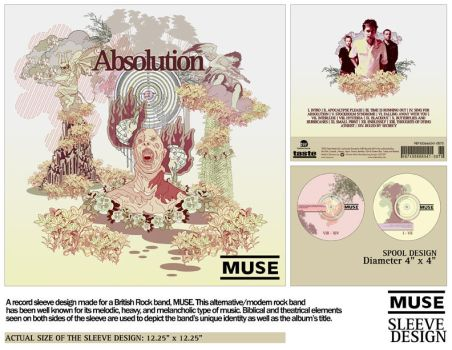 MUSE record sleeve by owenz